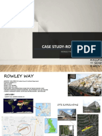 Case Study-row Housing