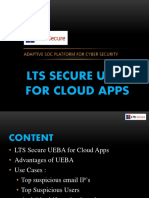 LTS Secure UEBA O365 for Cloud Apps