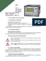 Manual Romana IRDH575