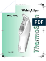 Braun Pro4000 ThermoScan - Service Manual