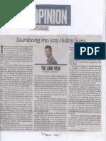 Philippine Daily Inquirer, July 3, 2019, Isumbong mo kay Inday Sara.pdf