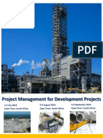 Project Management Course for Development Projects