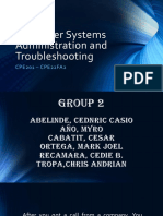 Computer Systems Administration and Troubleshooting
