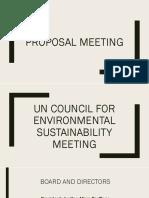 Un Council for Environmental Sustainability