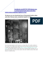 45 places you can download tens of thousands books.docx
