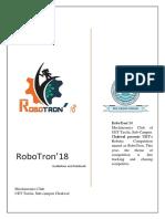Robotron'18 Rule Book