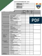 Boleta de Información 2019