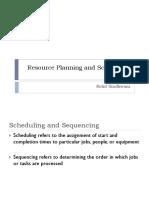 10.0 Resource Planning