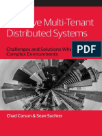 Effective Multi Tenant Distributed Systems