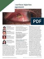 Occular Surface Injury