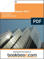 Corporate Finance Part i