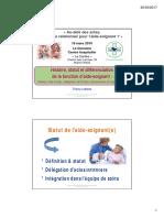 Lothaire Histoire-statut Differenciation de Fonction Aide-soignant Fnib Le Domaine 180316 Tl
