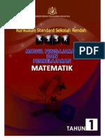 Modul KSSR Matematik Tahun 1 (B Malaysia)