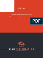 LION Presentation Template 4x3
