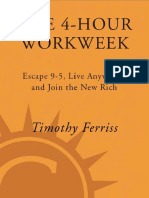 Timothy Ferris the 4 Hour Work Week