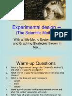 Experimental Design Scientific Method and GraphingREVISED.ppt