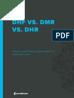 DHF VS DMR VS DHR