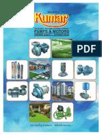Kumar pumps  Broucher