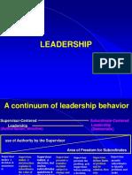 Leadership & Motivation