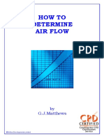 How to Determine Air Flow
