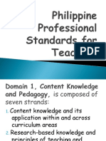 Philippine Professional Standards for Teachers