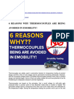 6 REASONS WHY THERMOCOUPLES ARE BEING AVOIDED IN EMOBILITY!