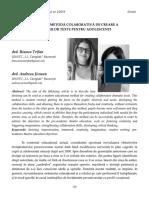 20 Bianca Trifan şi Andreea Jicman   Devising – metodă colaborativă de creare a propriilor texte pentru adolescenţi