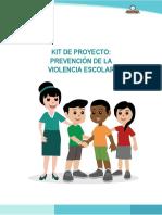 Kit de Prevención de La Violencia Escolar