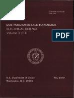 DC Fundamentals Handbook electrical science volume 3 of 4