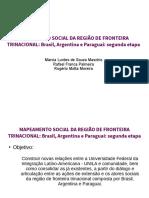 Apresentação Projeto Mapeamento Social UNILA 3