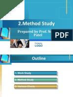 2. Method Study