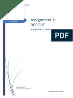 ctl assigment 1 report brooke grech 18893641