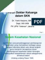 Peran Dokter Keluarga Dalam SKN 1516