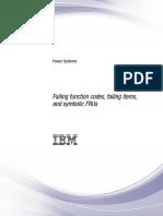 Failing Function Codes, Failing Items, And Symbolic FRUs