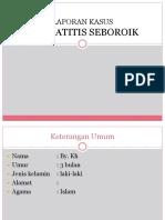 98307626 LAPORAN KASUS Dermatitis Seboroik