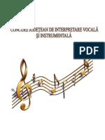 Regulament Concurs Muzica