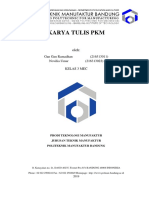Karya Tulis PKM