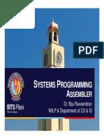 Linux Assembler Topic WILP