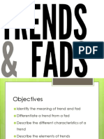 Trend and Fad Lesson 1 Week 1 2 2