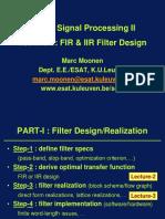 Signal Processing FIR & IIR