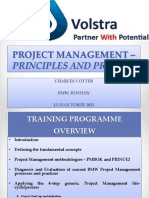 Project Management Principles and Process