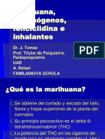 Marihuana, la sustancia natural