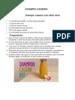 Champu Casero