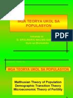 Ekonomiks-Teorya Ukol Sa Populasyon