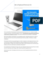 The Beginners Guide to Keyboard Shortcuts for Chromebooks