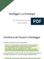 Ontologia Heidegger