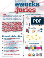 Fireworks Injury Poster 2019