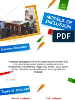 Models of Inclusion