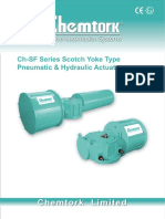 Chemtork Scotch & Yoke Pneumatic Actuators