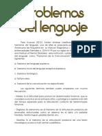 Problemas del lenguaje